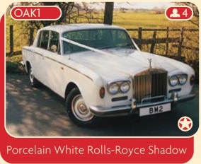Porcelain White Rolls-Royce Shadow