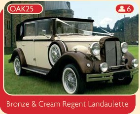 Bronze and Cream Regent Landaulette