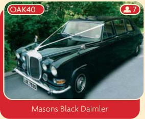 Masons Black Daimler
